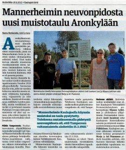 Kauhajoki-lehti-Mannerheim